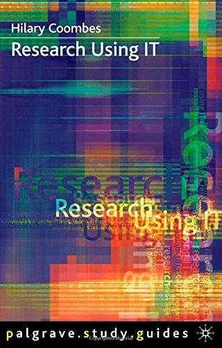 Research Using IT (Palgrave Study Skills), Coombes, Hilary