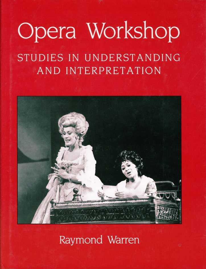 Opera Workshop, Warren, Raymond