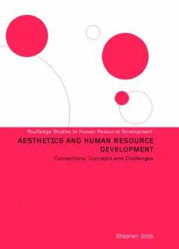 Aesthetics and Human Resource Development : Connections, Concepts, and Opportunities, Gibb, Stephen