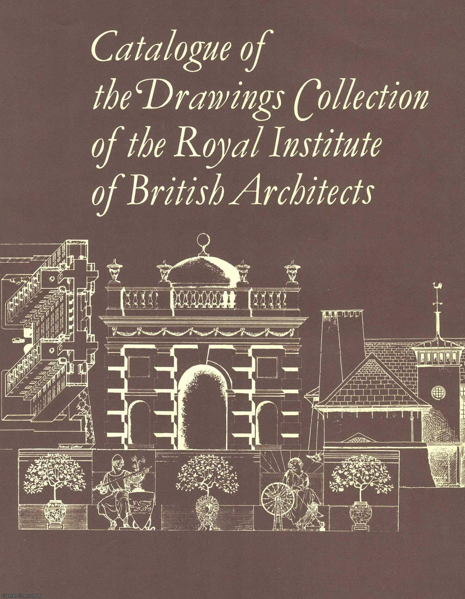A Cumulative Index : Catalogue of the Drawings Collection of the Royal Institute of British Architects., Bettley, Editor) James (Author