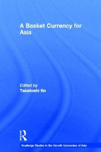 A Basket Currency for Asia, Ito, Takatoshi