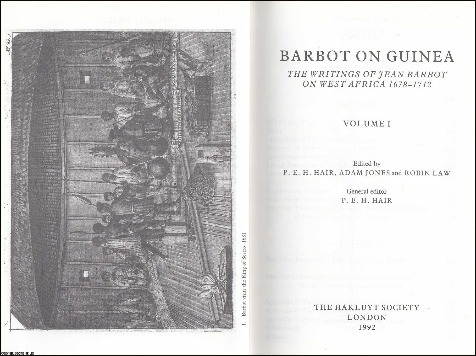 Barbot on Guinea Volume I (2nd Series 175), Law, Robin (Editor)