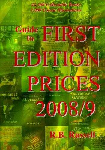 Guide to First Edition Prices 2008/9, Russell, R.B.