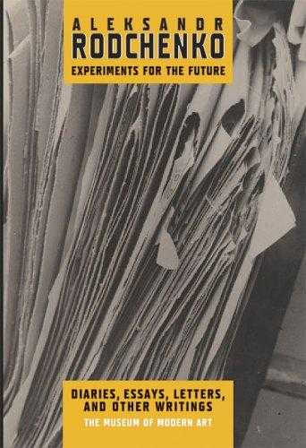 Aleksandr Rodchenko: Experiments for the Future, Lavrentiev, Alexander N.
