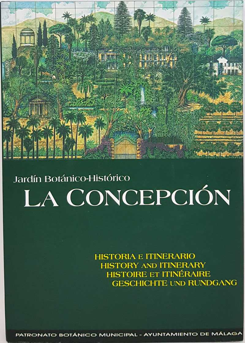Jardin Botanico-Historico: La Concepcion: History and Itinerary, Jose Perate