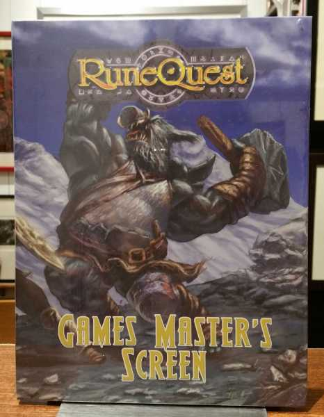 RuneQuest: Games Master's Screen, Matthew Sprange