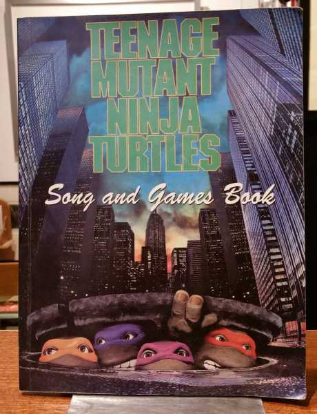 Teenage Mutant Ninja Turtles: Song and Games Book, EMI Music Publishing