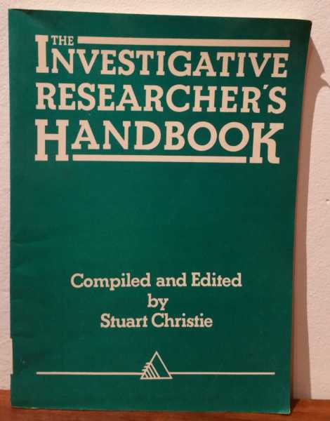 The Investigative Researcher's Handbook, Stuart Christie