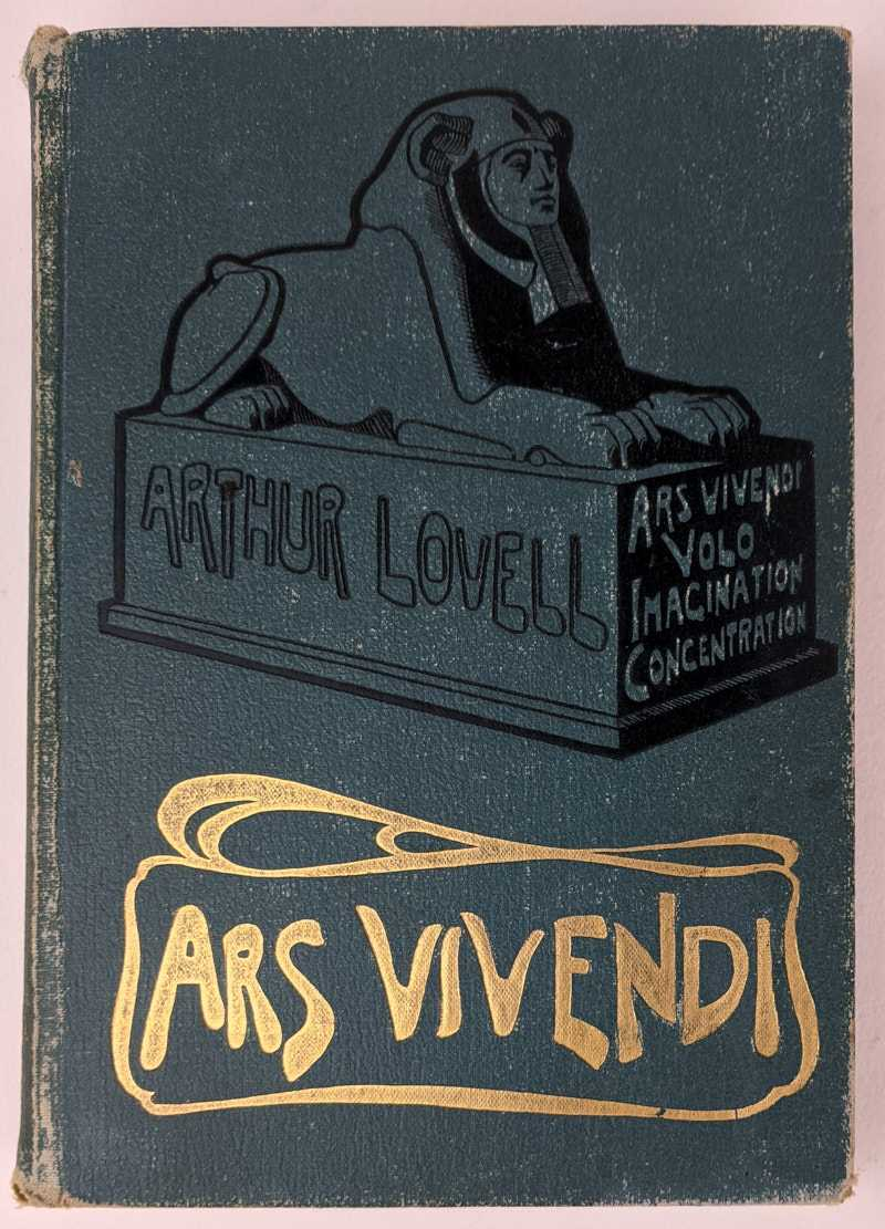Ars Vivendi: or The Art of Acquiring Mental and Bodily Vigour, Arthur Lovell