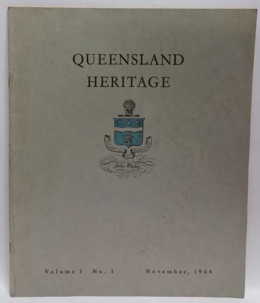 Queensland Heritage Volume 1 No. 1 (November, 1964), Oxley Memorial Library Advisory Committee