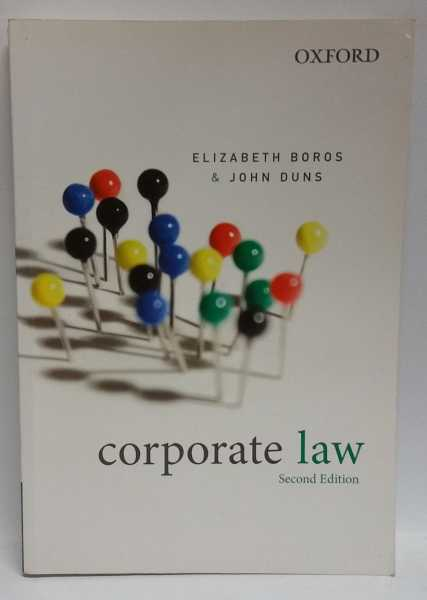 Corporate Law, Elizabeth Boros; John Duns