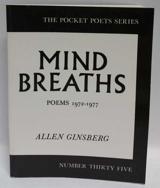 Mind Breaths: Poems 1972-1977, Allen Ginsberg