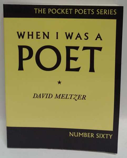 When I Was A Poet, David Meltzer