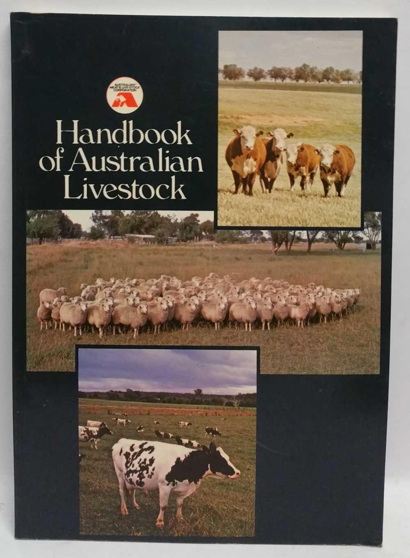 Handbook of Australian Livestock, R. G. Jones