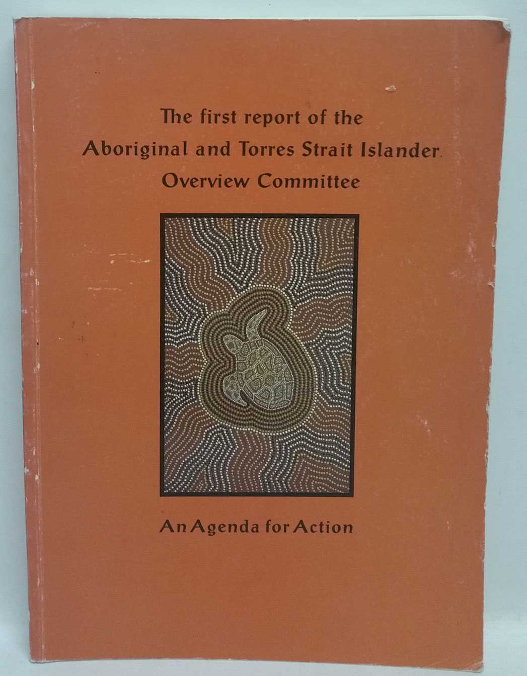 The First Report of the Aboriginal and Torres Strait Islander Overview Committee: An Agenda for Action, Aboriginal And Torres Strait Islander Social Justice Commissioner