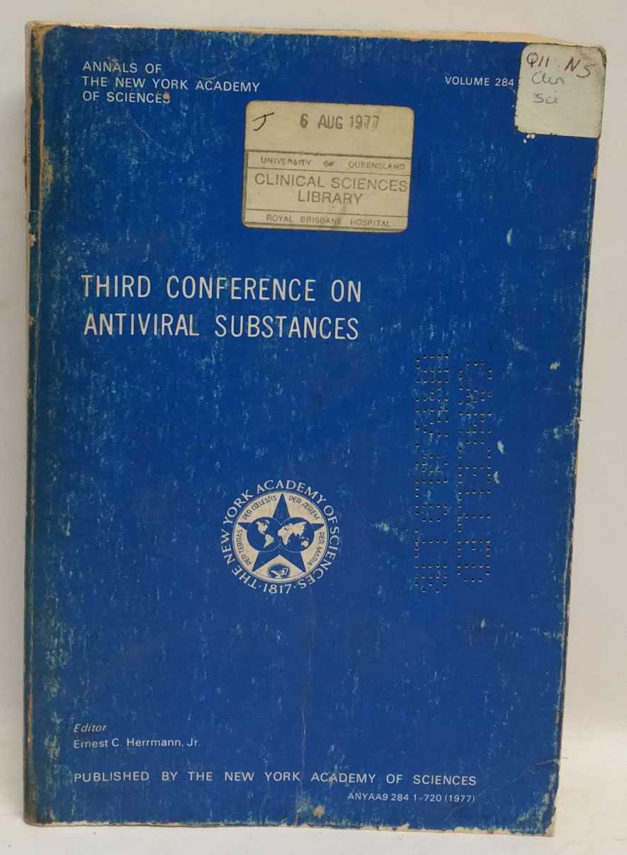 Third Conference on Antiviral Substances, Ernest C. Herrmann, Jr.