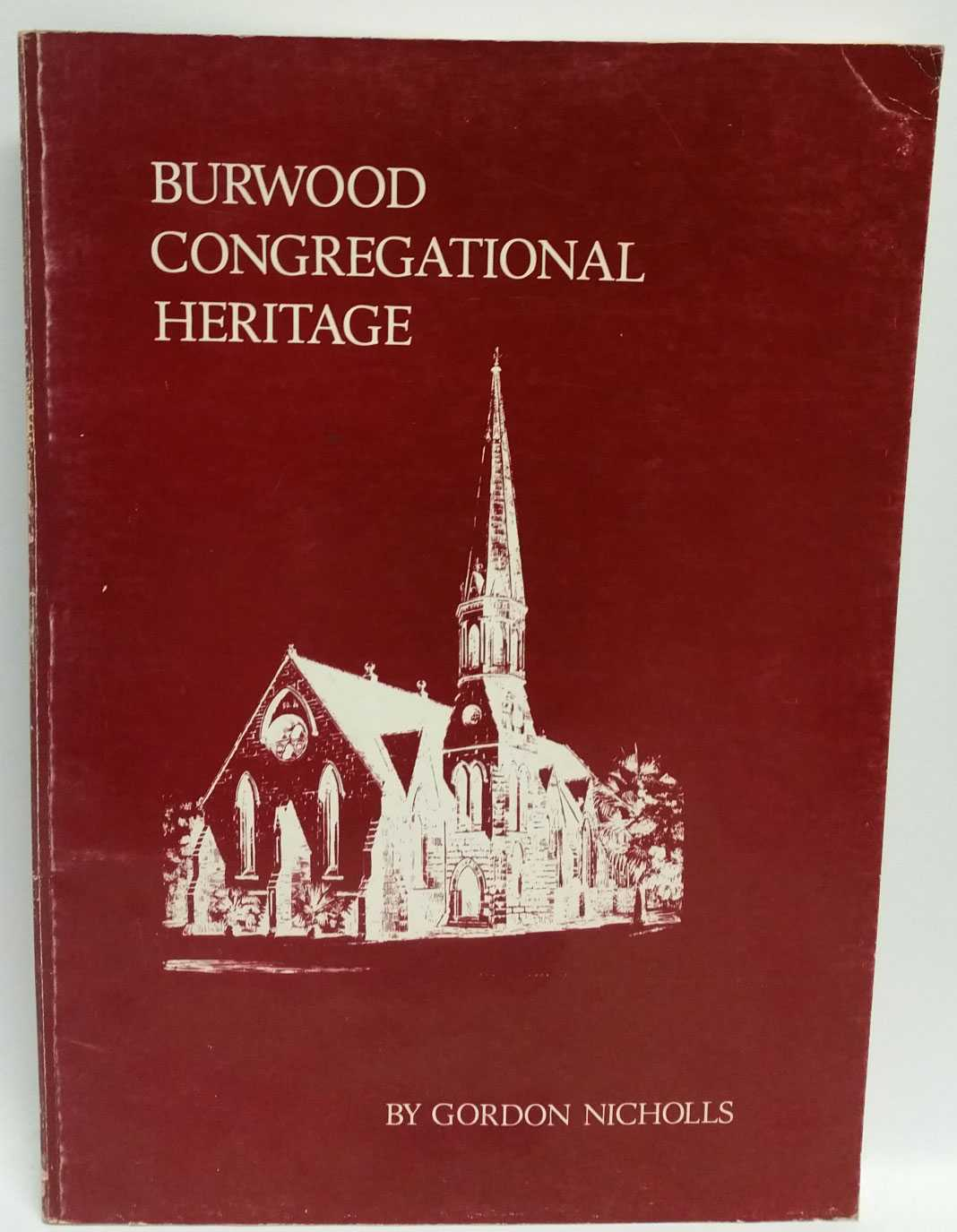 Burwood Congregational Heritage, Gordon Nicholls