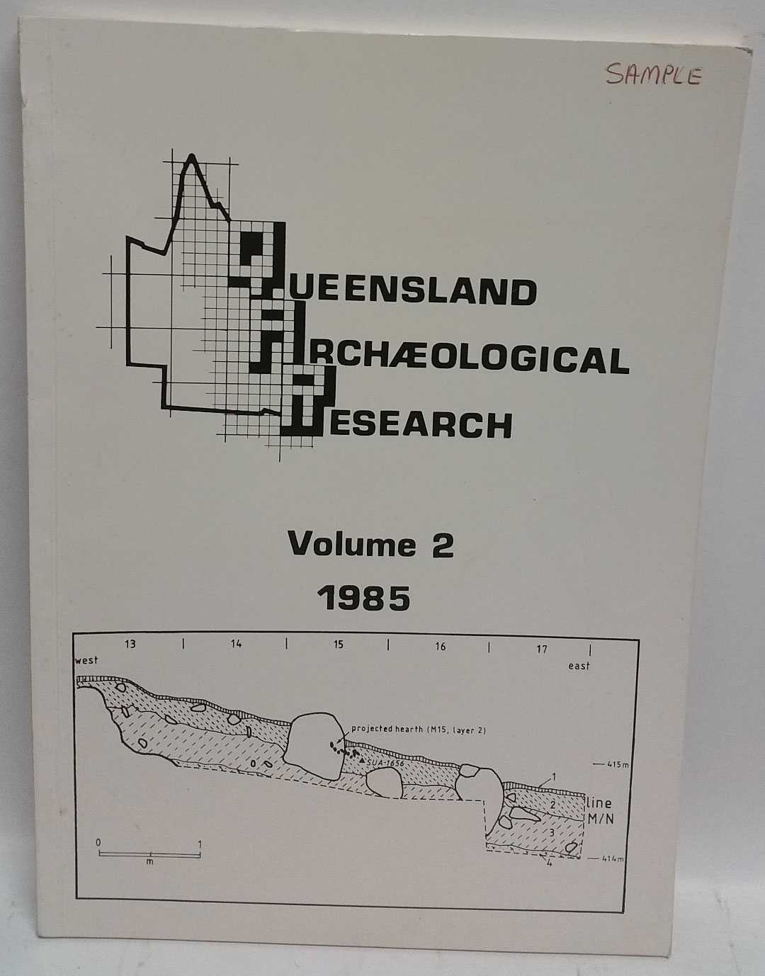 Queensland Archaeological Research Volume 2, 1985, H. J. Hall