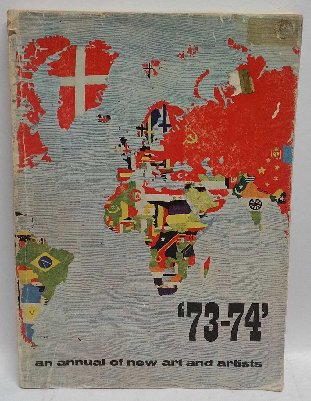 '73-74' An Annual of New Art and Artists, Willem Sandberg