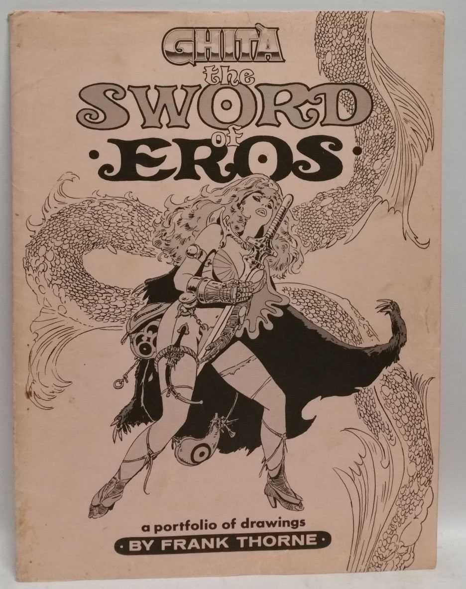 Ghita the Sword of Eros: A Portfolio of Drawings, Frank Thorne