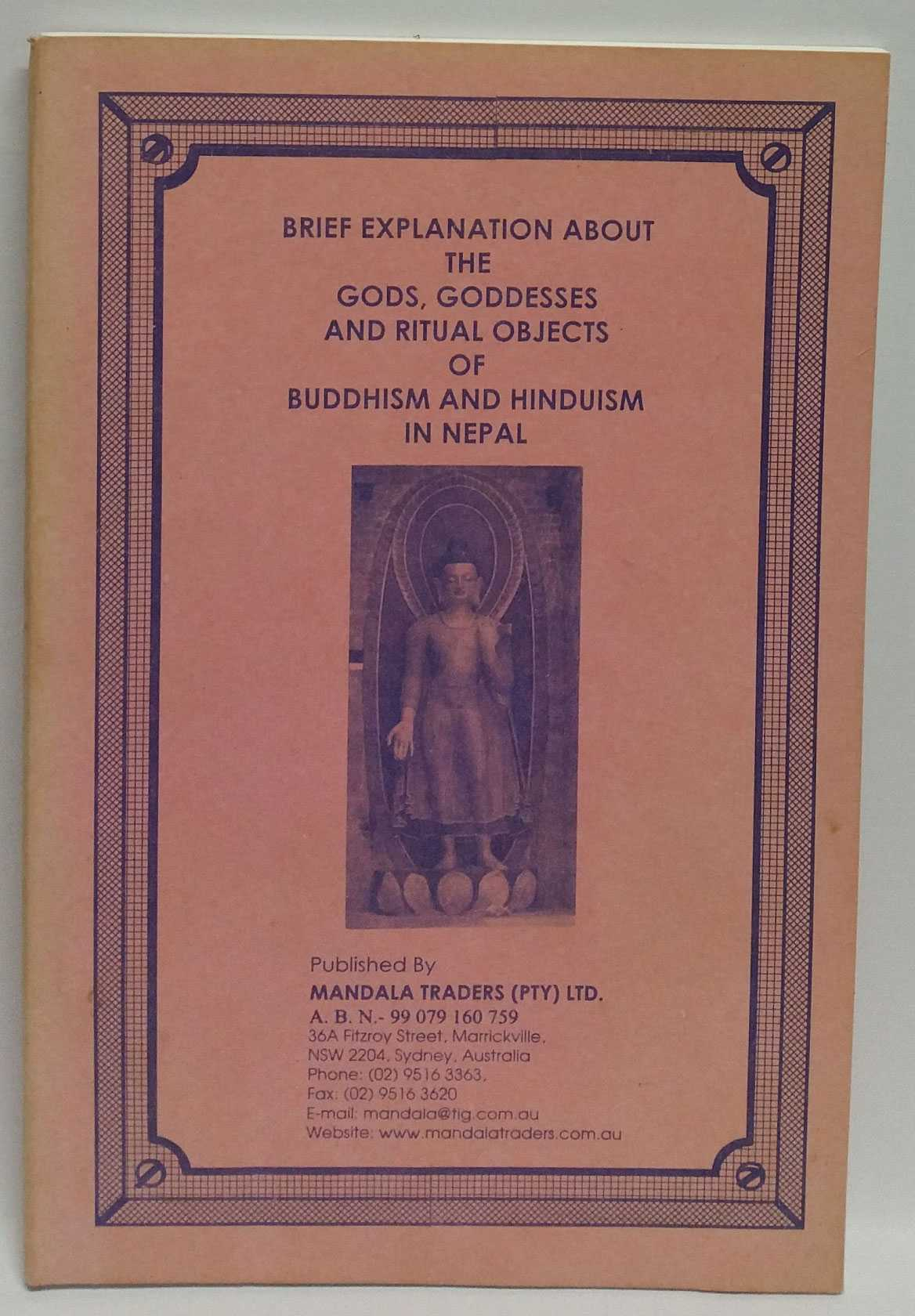 Brief Explanation About The Gods, Goddesses And Ritual Objects Of Buddhism And Hinduism In Nepal, Mandala Traders