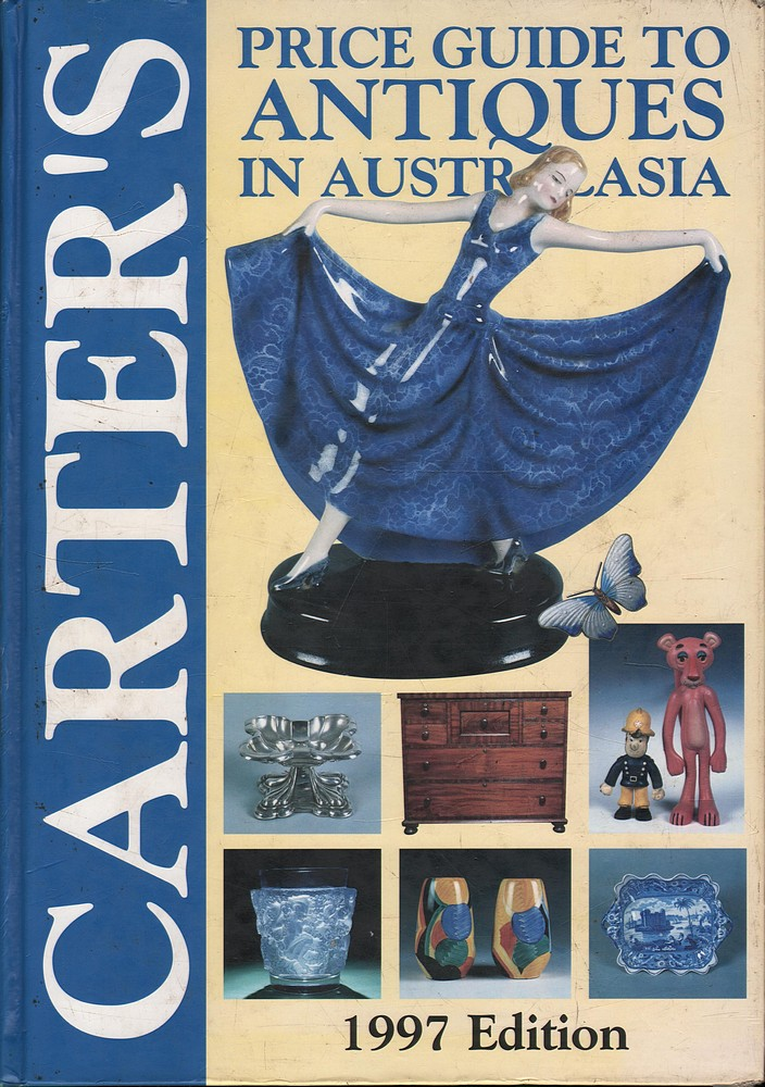 Alan-Carter-CARTERS-PRICE-GUIDE-TO-ANTIQUES-IN-AUSTRALASIA-1997-EDITION-1st-Ed