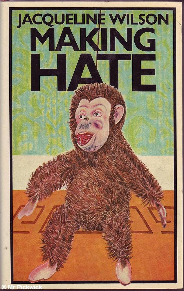 Jacqueline-Wilson-MAKING-HATE-1st-Ed-HC-Book