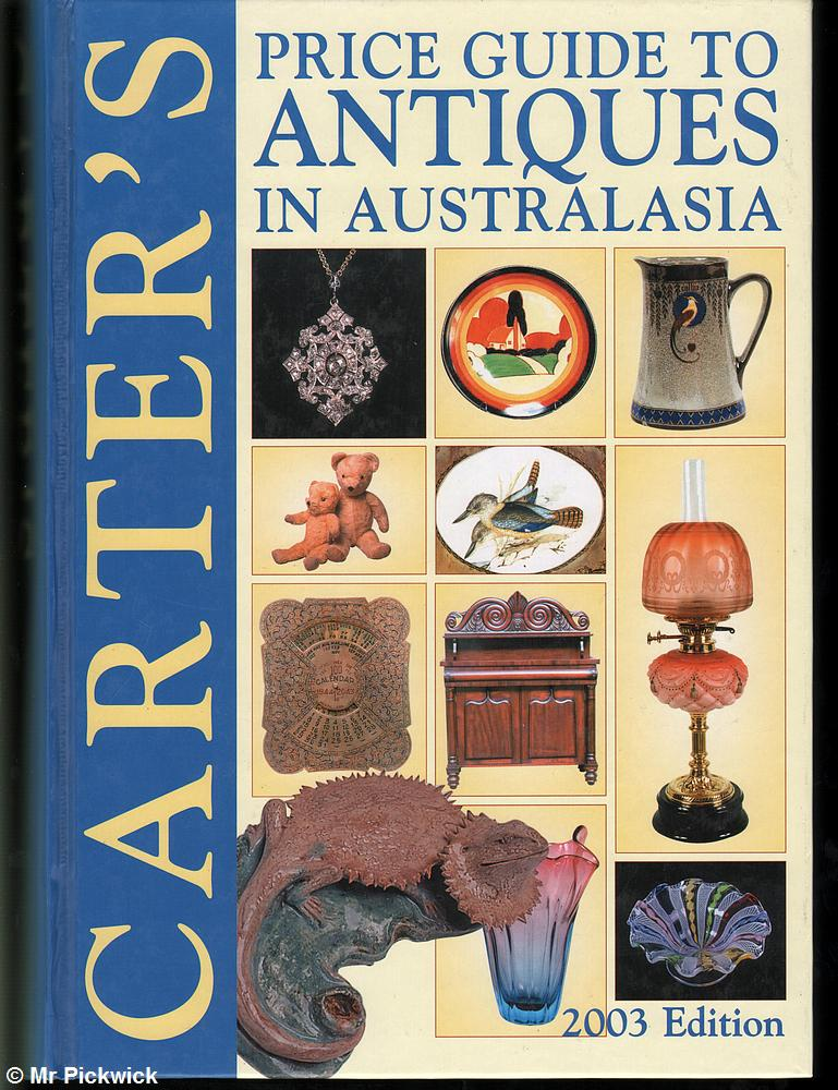 Alan-Carter-CARTERS-PRICE-GUIDE-TO-ANTIQUES-IN-AUSTRALASIA-2003-EDITION-1st-Ed