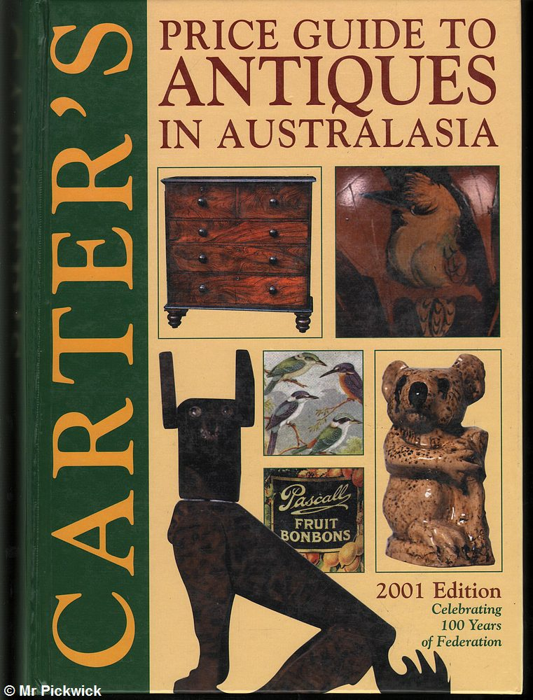 Alan-Carter-CARTERS-PRICE-GUIDE-TO-ANTIQUES-IN-AUSTRALASIA-2001-EDITION-1st-Ed