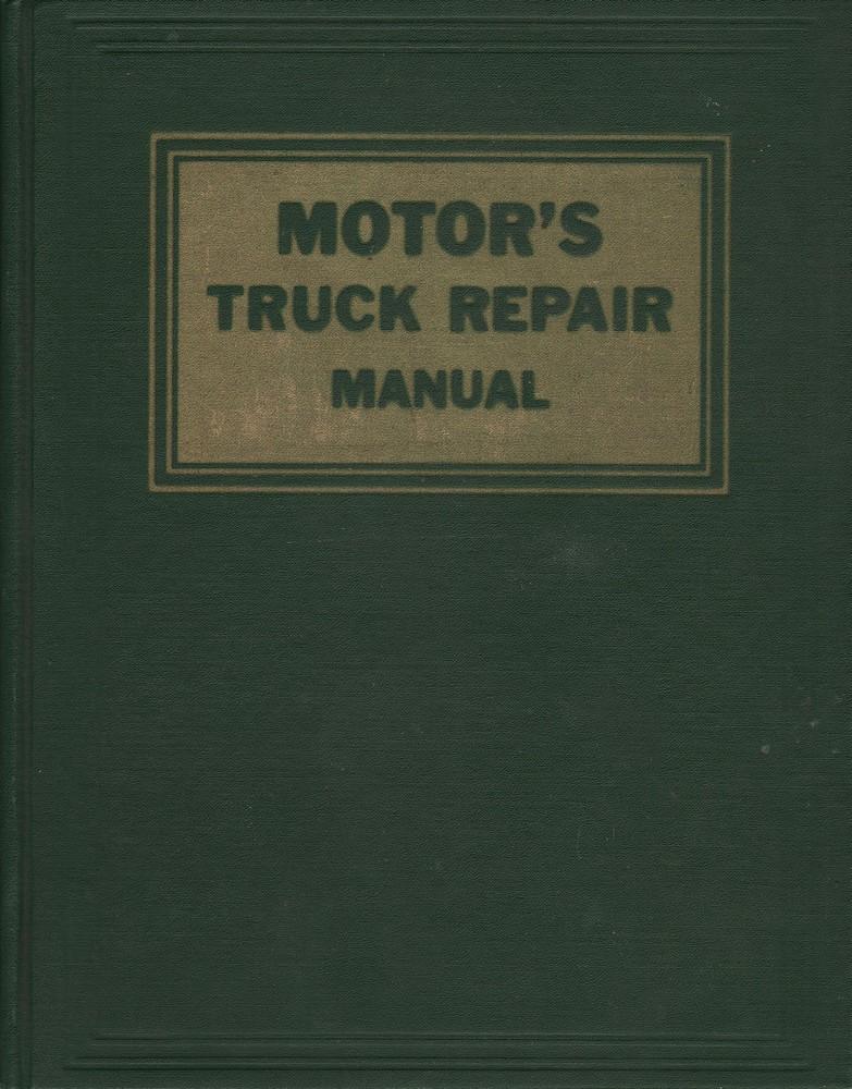 Ralph Ritchen Ed Motor 39 S Truck Repair Manual Tenth Edition