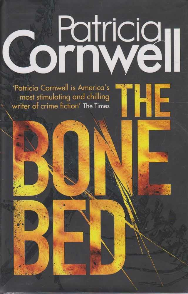 PATRICIA CORNWELL The Bone Bed 2012 HC Book