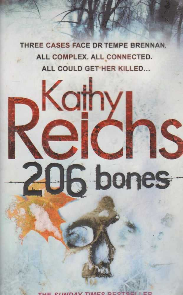 KATHY REICHS 206 Bones 2010 SC Book